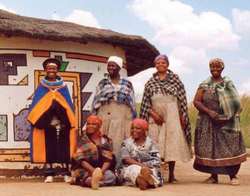 Ndebele-women